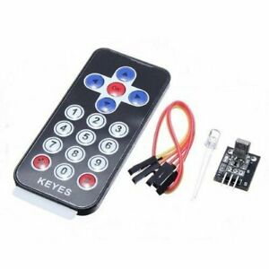 1pc New Infrared Ir Wireless Remote Control Module Kits For Arduino