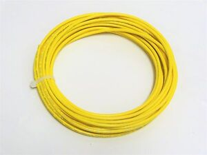 18 Gauge Primary Wire Yellow 1000 Ft Awg Stranded Copper Power Ground Mtw