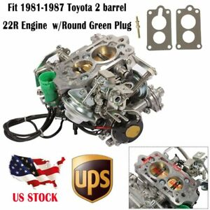 For 1981 87 Toyota Pickup 22r Engine Carter 2 Bbl Carburetor Engine Replacement