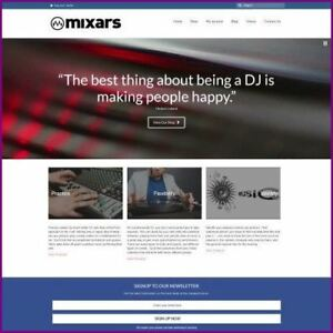 Fully Stocked Dropshipping Dj Equipment Website Business For Sale