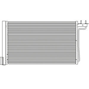 Cpp Air Conditioning Condenser For 2015 2016 Ford Focus Fo3030257