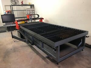 Cnc Plasma Table 5x10 With Water Table