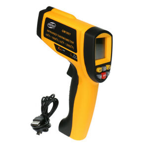 22 3002 Digital Infrared Thermometer Ir Laser Temperature Tester Meter