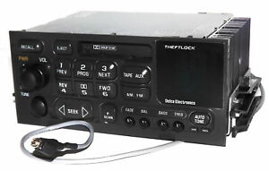 1995 2002 Gmc Chevy Truck Radio Am Fm Cassette W Aux Input 3 5mm Iphone Mp3
