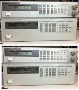 Agilent Hp 6629a Quad Variable Dc Output Power Supply Tested At Full Load