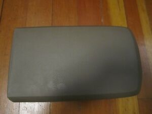02 03 04 05 Ford Expedition Armrest Arm Rest Center Console Cover Lid Tan Light