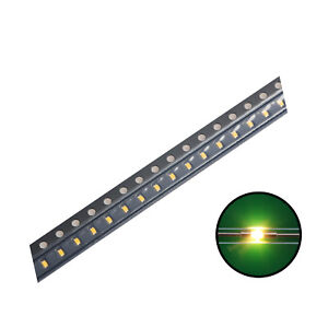 100pcs 0402 1005 Smd Led Diode Lights Bulb warm White Ultra Bright Chips