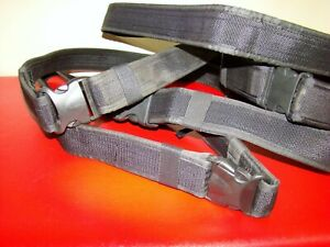 Police Fire Ems Tactical Nylon Duty Belt 2 Wide Size Xl 44 48 Adjustable