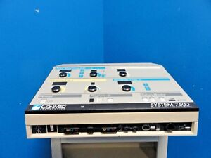 Conmed 7500 Electrosurgical Generator W Abc Mode 13 0146 Ar Footswitch 15132