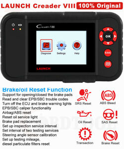 Abs Srs At Sas Oil Brake Reset Tool Engine Scanner Launch Car Diagnostic Tool