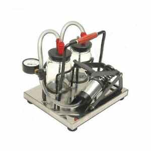 Rkdent New Manual Suction Machine Foot Operated With Free Shipping