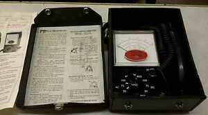 Vintage Pacer Industries Model 705a Analog Amp Meter ac 1 400 Amps Dc 1 600 A