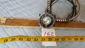 Vintage Stewart Warner Green Line Water Temperature Gauge 2 1 16