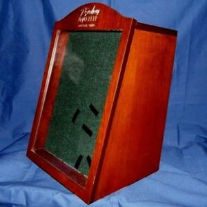 Wood Display Case With Lock