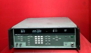 Fluke 6060a an Signal Generator 10 Khz To 520 Mhz 127 To 13 Dbm S n4090150