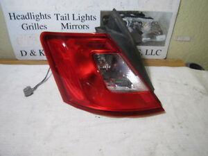 Ford Taurus 2010 11 2012 Left Driver Side Oem Tail Light Fo2818149 Ag1z 13405 E