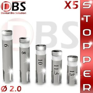 5x Dental Implant Best Stoppers For Dental Drills 2 0 Premium Quality