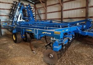 Landoll 2310 Weatherproofer Iii 7 Shank Disk Ripper With Rolling Basket Low Acre