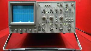 Tektronix 2245a 100 Mhz 4 Channel Dual Time Base Oscilloscope Sn b026766