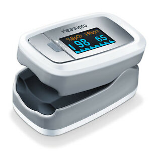 Measupro Ox150 Finger Pulse Oximeter W Oled Display Blood Oxygen Spo2 Us Seller