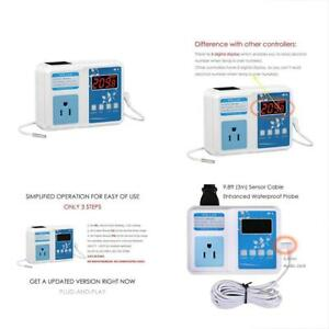Wh1436a Temperature Controller 110v Digital Thermostat Switch Sous Vide Ntc 10k