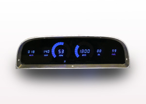 1960 1963 Chevy Truck Digital Dash Panel Blue Led Gauges For Ls Swap Made In Us