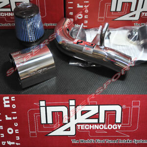 Injen Is Polish Short Ram Air Intake Kit For 2002 2006 Acura Rsx Base Only