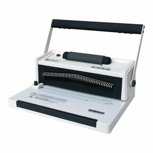Trubind Tb s20a Coil Binding Machine With Electric Coil Inserter