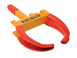 Wheel Lock Clamp Boot Tire Claw Trailer Car Truck Anti Theft Towing Tool 9 5 19