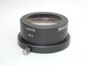 Wild Microscope Auxiliary 1 5x Lens 352875 For Stereo M Series Excellent