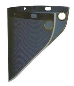 Fibre Metal S199 Steel Face Shield Metal Wire Screen Mesh Eye Face Protection