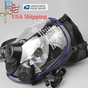 Anti dust Full Face Facepiece Respirator Safety Painting Gas dust Mask