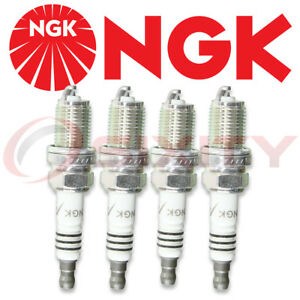 4 X Ngk Iridium Ix Spark Plugs Bkr8eix Colder Heat Range 8 For Race Tuned 2668