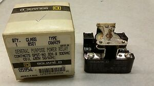 Square D 8501co6v29 General Purpose Power Relay New