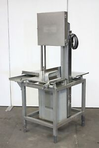 Hobart 5801 Commercial Butcher Market Beef Meat Band Saw Slicer 220v 3ph
