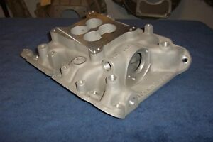 Offy Offenhauser Buick jeep Intake Manifold Dual port For Street