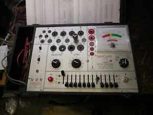 Mercury 2000 Tube Tester Mutual Conductance works