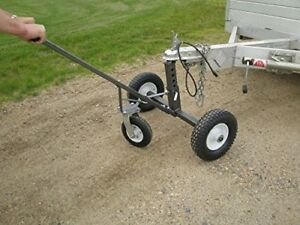 Tow Tuff Adjustable Trailer Dolly With Caster Furniture Appliance Dollies Carts