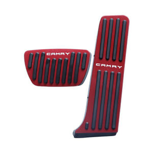 Automatic Car Non slip Accelerator Brake Foot Pedal Treadle Cover For Camry 2018