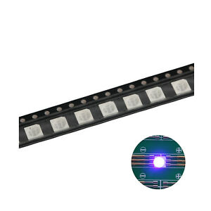 500pcs 5050 2020 Smd Led Diode Lights Uv purple Super Bright Lighting Bulb
