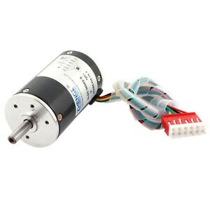 Dc 24v 4000r 38mm Diameter Low Noise Adjustable Speed Brushless Motor 250g cm