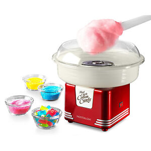 Electric Commercial Cotton Sugar free Candy Maker Retro Red Machine Kit Store