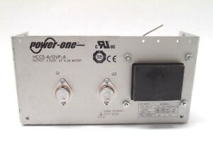 Power One Hcc5 6 ovp a Power Supply