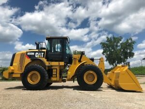 2015 Caterpillar 950m Articulated Wheel Loader Cab Ac Rubber Tire Cat Tractor