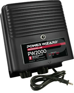 Pw2000 Power Wizard Fence Energizer 3 Year Manufacturer Warranty