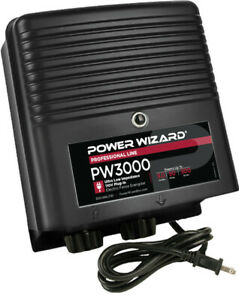 Pw3000 Power Wizard Fence Energizer 3 Year Manufacturer Warranty