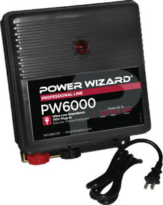 Power Wizard Pw6000 Fence Energizer 3 Year Manufacturer Warranty