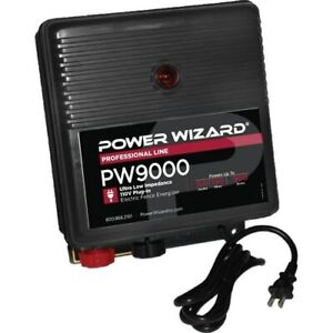 Power Wizard Pw9000 Fence Energizer 3 Year Manufacturer Warranty