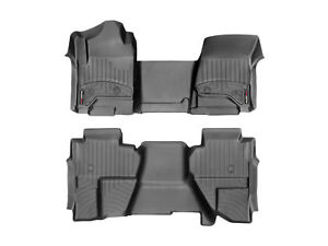 Weathertech Floorliner For Chevy Silverado Gmc Sierra Double Cab Vinyl Full Set