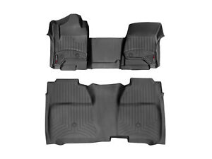 Weathertech Floorliner For Chevy Silverado Gmc Sierra Crew Cab Vinyl Full Set
